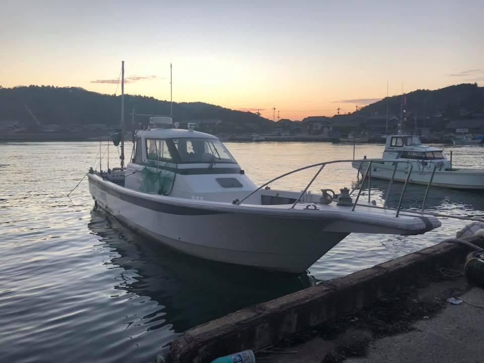 遊漁船シーク号11月22日元気に出航します!