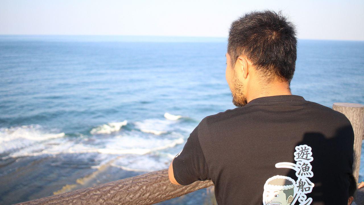 石川県珠洲市の釣り船遊漁船シーク号から禄剛崎はすぐ近く!